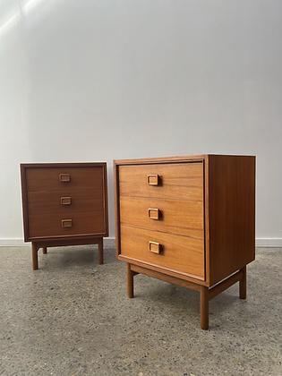 Parker bedside drawers/pair