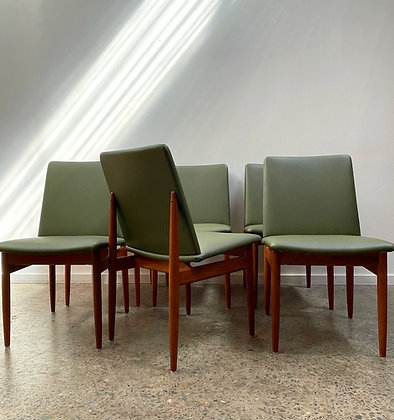 Parker Slab Back Dining Chairs