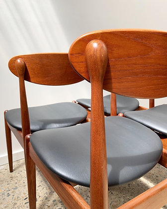 Parker '107' dining chairs/set of 4