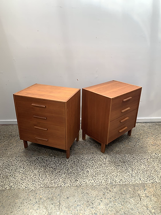 Parker small chest of drawers/Pair