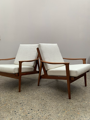 Parker Armchairs/Pair