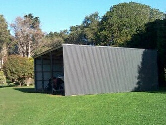 Our shed is finished