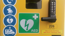Defibrillator access