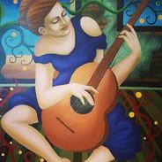 """""""Die Gitarrenspielerin"""""""