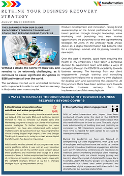 Rethink Your Business Recovery Strategy - August 2020 Edition Newsletter.png