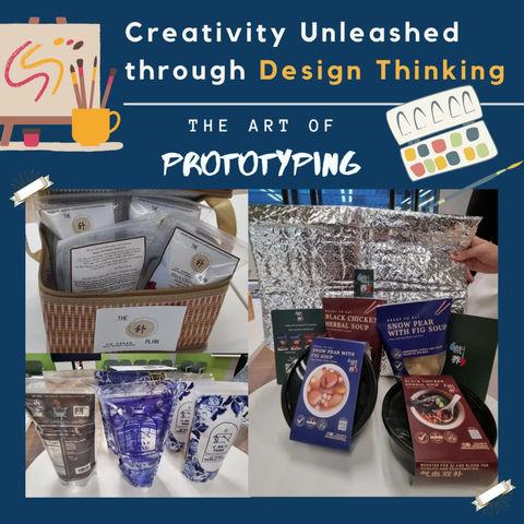 Creativity Unleashed Through Design Thinking
