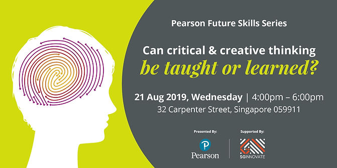 Critical and Creative Thinking (21 Aug 2