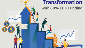 On-Way to Disruptive Business Model Transformation with 80% EDG Funding