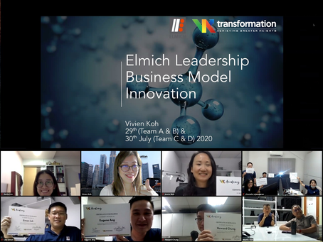 Business Model Transformation Training for Elmich Pte Ltd