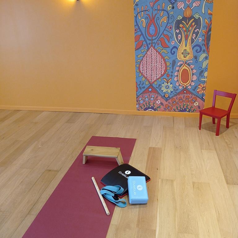 BON CADEAU 5 séances découverte yoga collectif.
