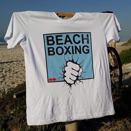 CAMISETA BEACHBOXING SOCO - BRANCA
