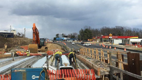 Construction Equipment Guide Features FMCC and VDOT Partnership in Route 1 Widening Article