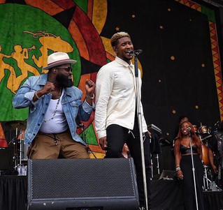 New Orleans Jazz Fest w/ The Roots ft. Usher