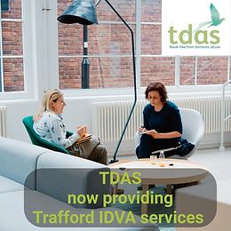 TDAS providing Trafford IDVA Services