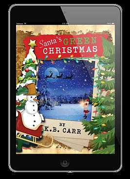 Santa's Green Christmas ebook.png