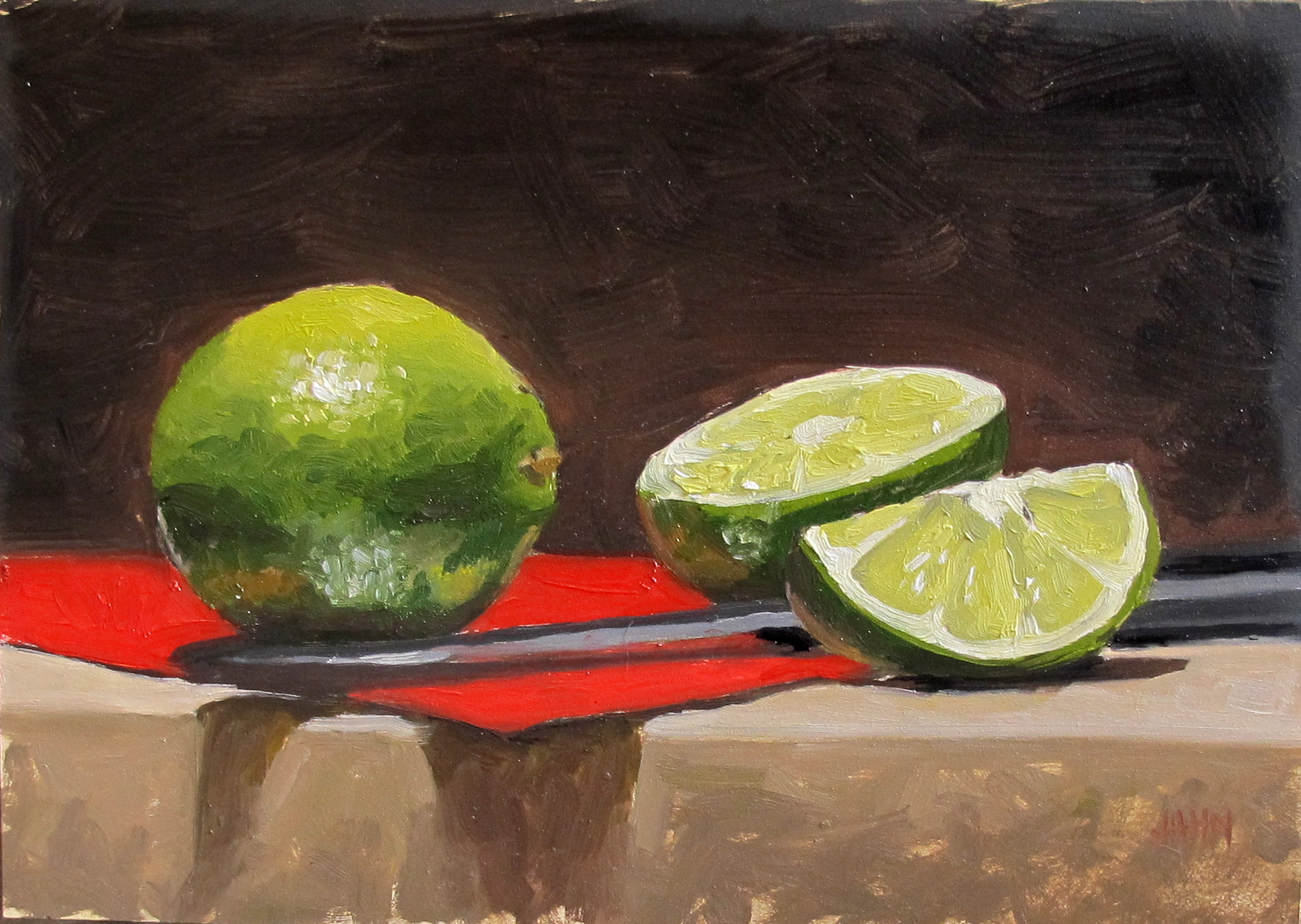 Limes and Knife