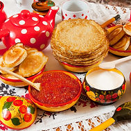 Russin pan cakes URAL sidecar tour