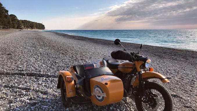 Ural sidecar motorcycle Sochi Day Tour