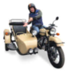URAL sidecar motorcycle tours in Russia