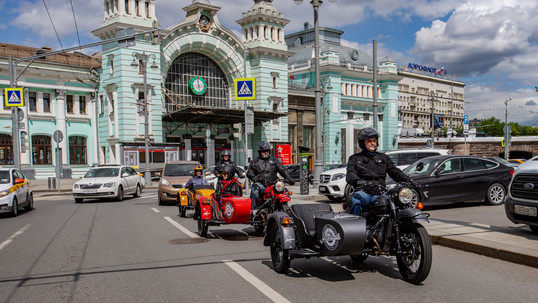 URAL sidecar Moscow day tours