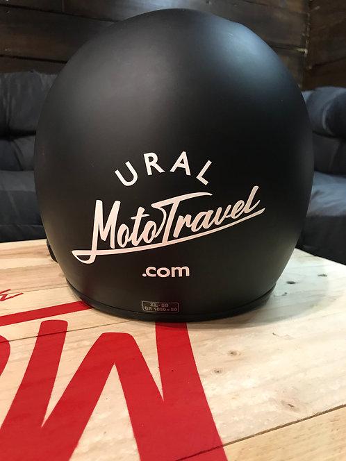 Sticker URAL MOTOTRAVEL white Size 150х90 мм