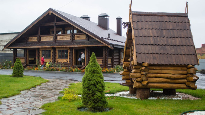 Russian-style hotel