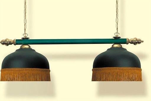 Светильник крашеный двойной