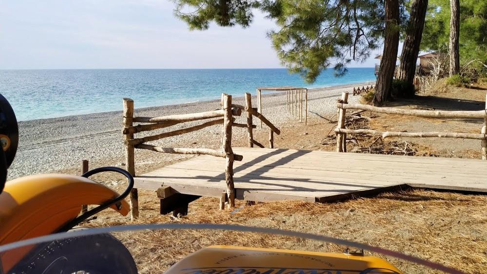 Pizunda beach, Abkhazia