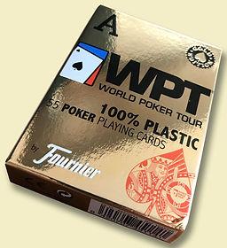 карты для покеа фурнье впт голд эдишн 100% пластик