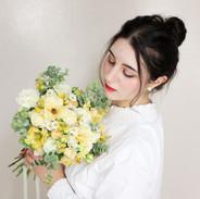 Cream Yellow /Rental Bouquet