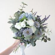 Antique Blue /Rental Bouquet