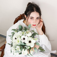 Anemone White /Rental Bouquet