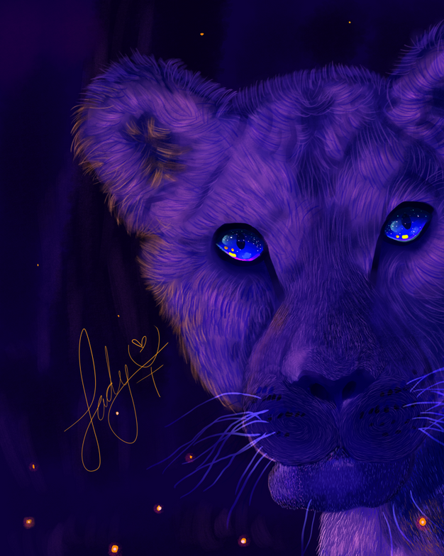 Spirit Guide: Lioness