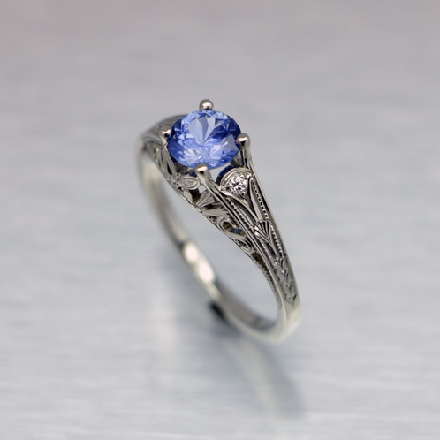 tanzanite butterfly engagement ring - Butterfly Wedding Rings