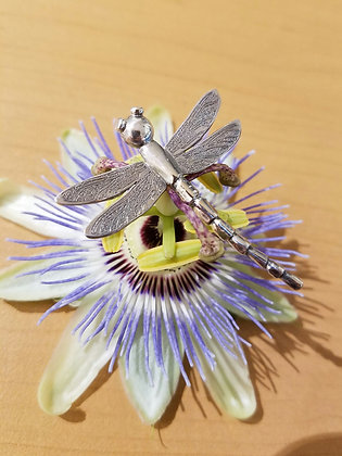 Dragonfly brooche