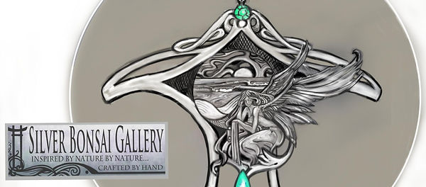 Illustration for jewelry by Kathryn Holton Stewart