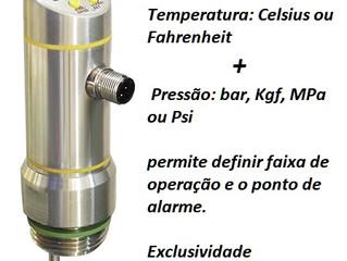 Sensor 2 em 1: Pressão e Temperatura