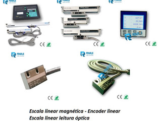 Encoder Linear - Escala Linear