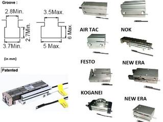 Sensor Magnético para atuadores pneumáticos