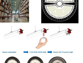 Luminária LED - inteligente - high bay