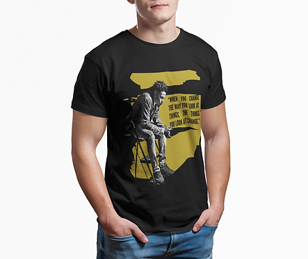 Young Black King - Adult T-Shirt