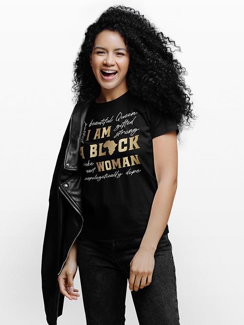 I Am A Black Woman - Adult T-Shirt