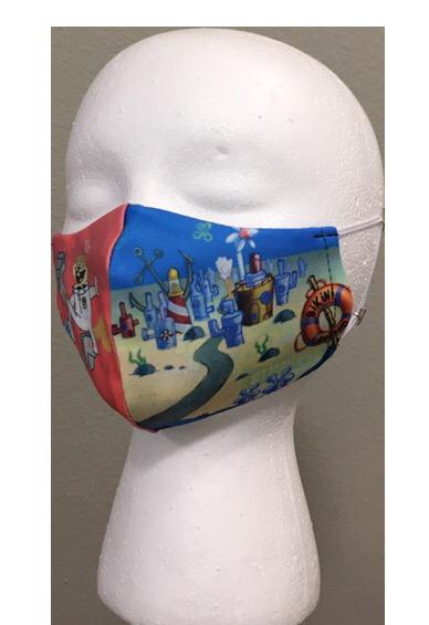 SpongeBob - Youth Face Mask
