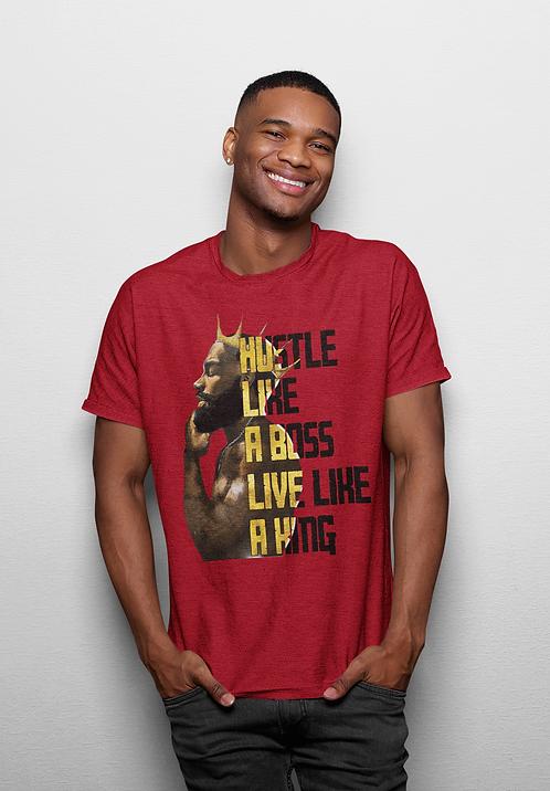 Live Like A King - Adult T-Shirt