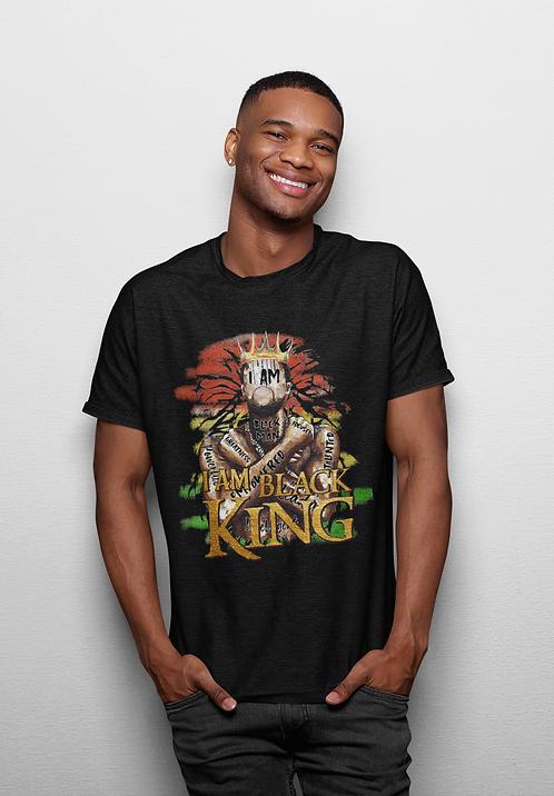 I Am Black King - Adult T-Shirt