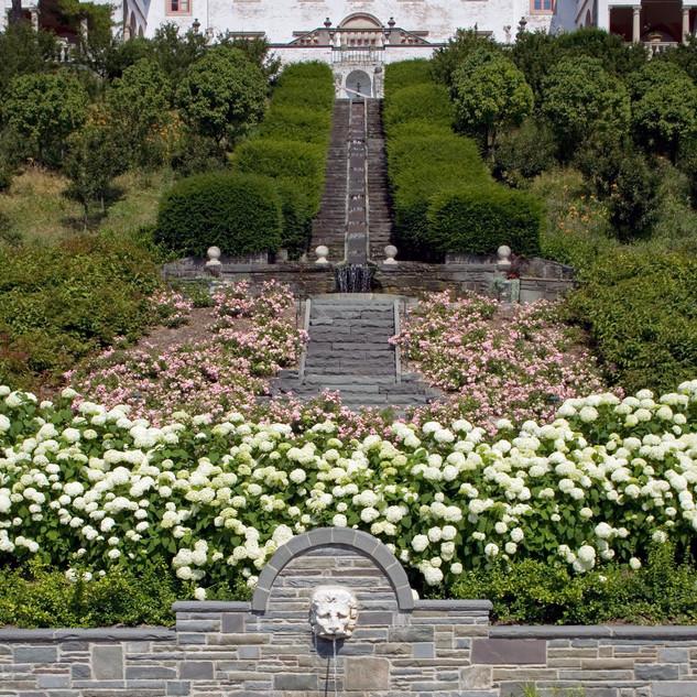 Villa Terrace Staircase