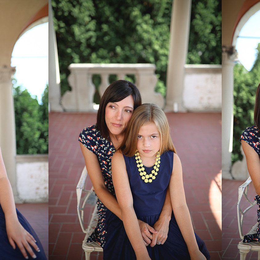 Mother's Day Family Photo Sessions at Villa Terrace