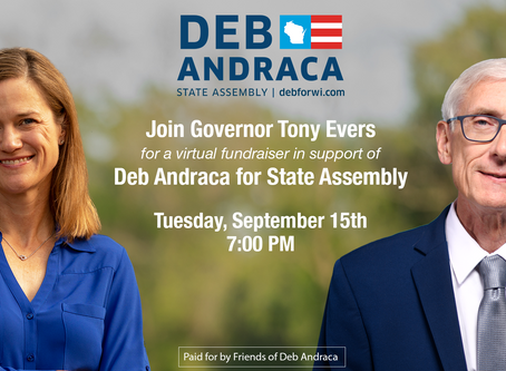 An Evening with Deb Andraca and Special Guest Governor Evers