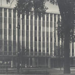 Von Grossmann Architects designed the Equitable Life Insurance Building on Wisconsin Avenue, built in 1957. Courtesy of the Milwaukee County Historical Society.