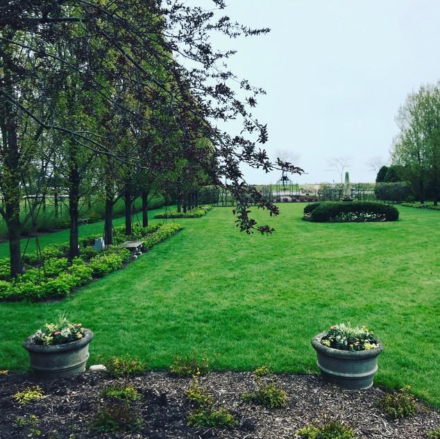 Villa Terrace Renaissance Garden